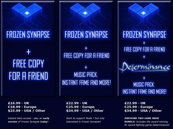 Frozen Synapse Options