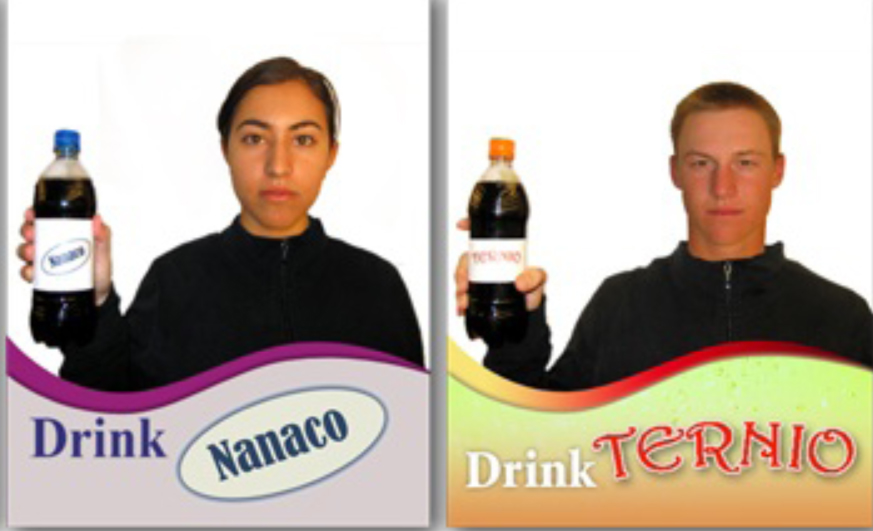 Drink Ternio brand soda, you witless consumer lemming.