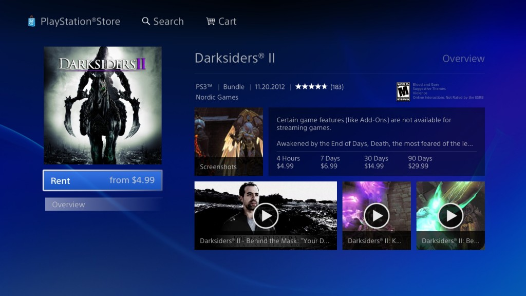 Thanks to Josué Cardona from Geek Therapy for hooking me up with the PlayStation Now screenshots.