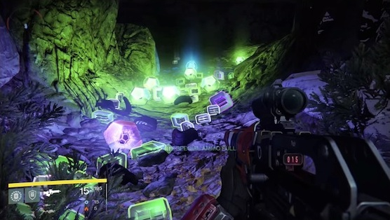 "The fabled ""loot cave"" (see footnote) is a direct result of the missing step in Destiny's loot loop."