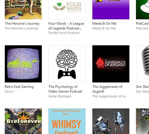 "Huh. The Psychology of Games Podcast is on the iTunes list of ""New & Noteworth."" That's a weird thing for me to inject into this discussion, isn't it?"