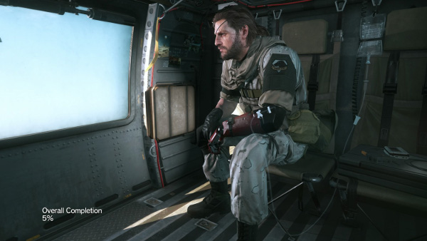 MGS5 makes you go through an awful lot of menus between missions, which hinders engagement.