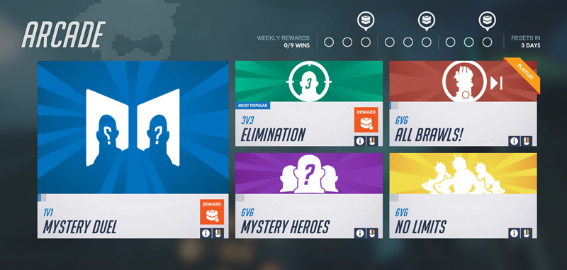 Notice the bubbles in the upper right that fill in as you earn loot boxes.