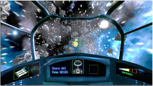 Screenshot of the game used in the study.